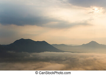 Mist over the mountains