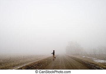 mist, vrolijke