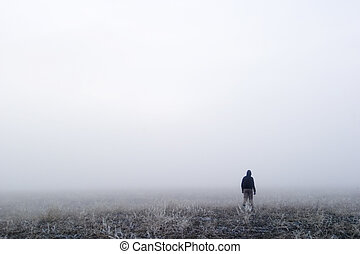 mist, wandeling