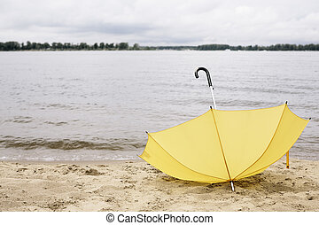 mistede, paraply