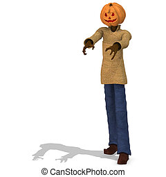 Mister Pumpkin #01 - Funny Punpkin Man, perfect for...