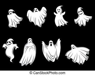 misterio, fantasmas, halloween