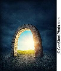 misteriosa, entrada