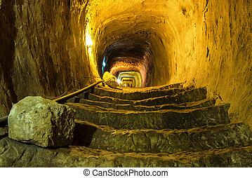 misterioso, prigione sotterranea