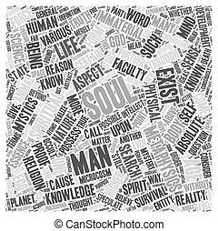 misterium, od, przedimek określony przed rzeczownikami, dusza, część, 1, tekst, tło, wordcloud, pojęcie
