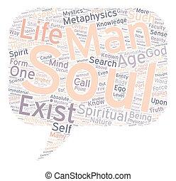 misterium, od, przedimek określony przed rzeczownikami, dusza, część, tekst, tło, wordcloud, pojęcie