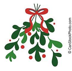 mistletoe illustrations and clip art 8 066 mistletoe royalty free rh canstockphoto com mistletoe clipart transparent mistletoe clipart png