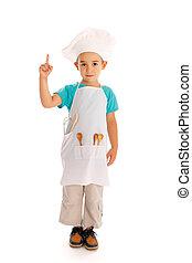 mistrz kucharski, mały, spoinowanie, zwyżkowy