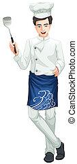 mistrz kucharski, samiec