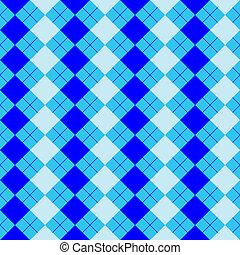 misturado, azul, suéter, cores, textura