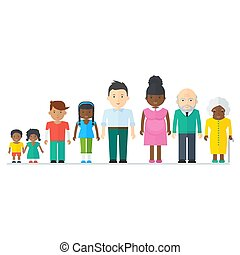 misturado, família preta