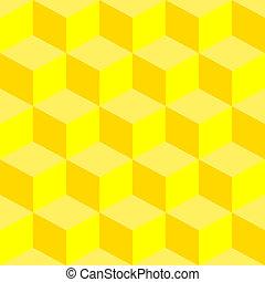 misturado, padrão, piscodelica, amarela