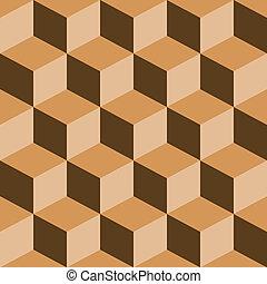 misturado, padrão, piscodelica, marrom