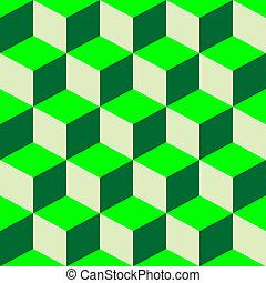 misturado, verde, piscodelica, padrão
