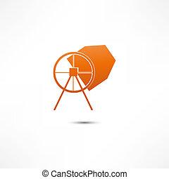 misturador concreto, ícone