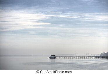 Misty Days on the Chesapeake Bay - A misty day on the...