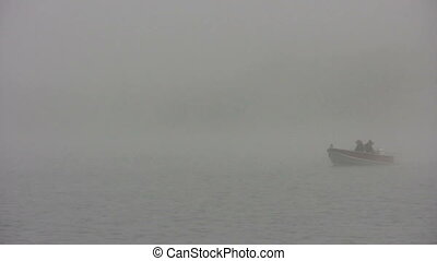 misty fishing