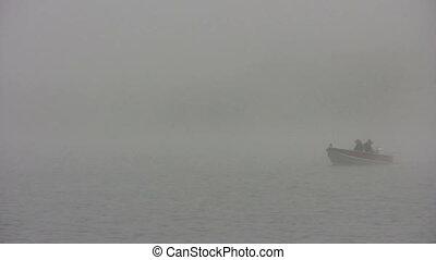 misty fishing