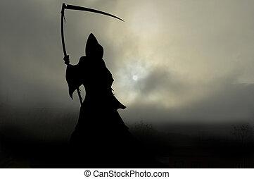 misty mort 1 - grim reaper with scythe