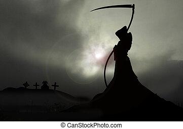 misty mort2 - grim reaper with scythe
