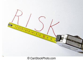 misurazione, rischio