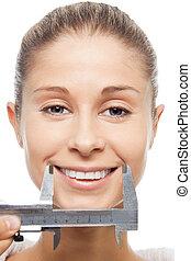 misurazione, soddisfazione, clienti, felicità
