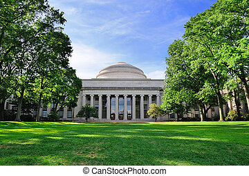 MIT - Boston Massachusetts Institute of Technology campus...