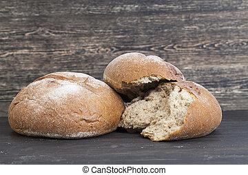 mitad, bread
