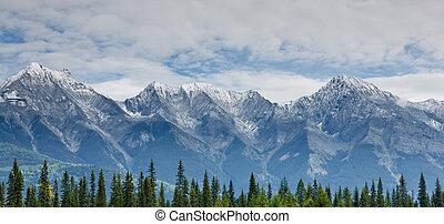Mitchell Range, Canada - Mitchell Range, Kootenay National...