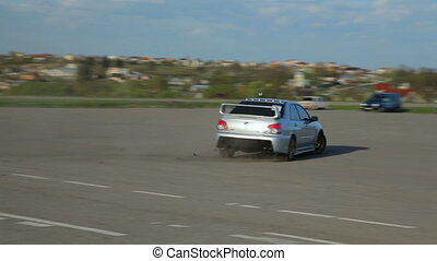 Mitsubishi Lancer Evolution Subaru Impreza Drift, drag...