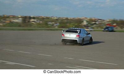 Mitsubishi Lancer Evolution Subaru Impreza Drift, drag...