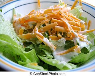 mittagstisch, salat