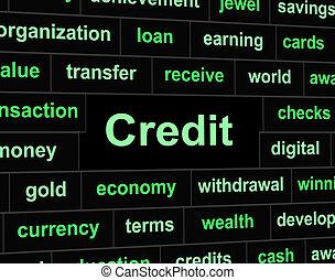 mittel, schulden, bankcard, kredit, kundenkarte