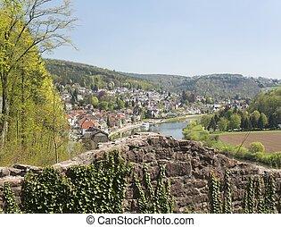 Mittelburg castle above Neckarsteinach