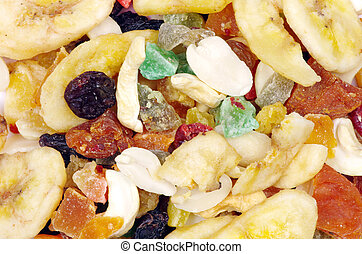 mix dried fruits