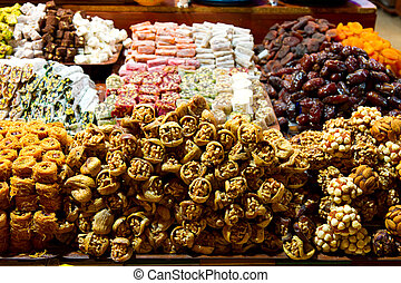 Mix Fruits from Spice Bazaar, Istanbul