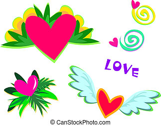 Mix Hearts with Lots of Love
