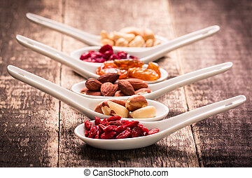 mix nuts seeds and dry fruits,healthy superfood,vegan food