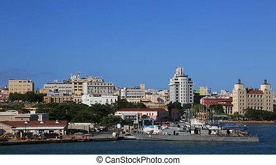 Mix of 2 shots Port San Juan, Puerto Rico, 2017.