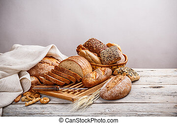 Mix of bread