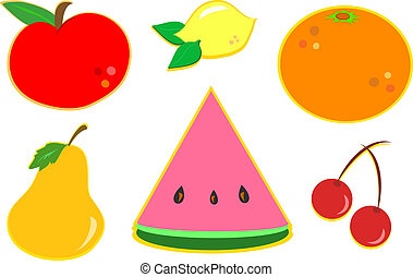 Mix of Different Fruits