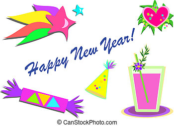 Mix of Happy New Year Pictures