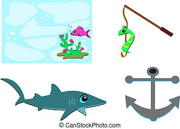 Mix of Marine Items