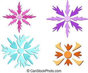 Mix of Snowflakes