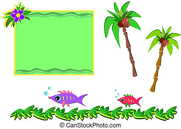 Mix of Tropical Pictures