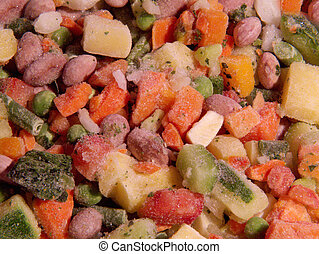 mix of vegetables for soup