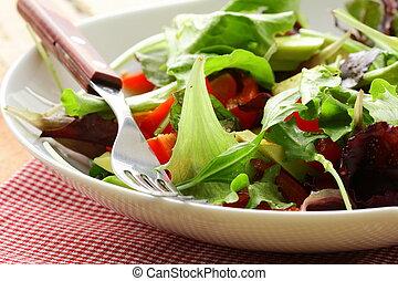 mix salad (arugula, iceberg) - mix salad (arugula, iceberg,...
