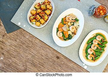 Mixed Chinese Food