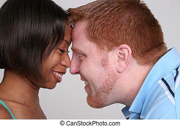 Mixed Couple Romantic