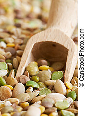 Mixed dried legumes